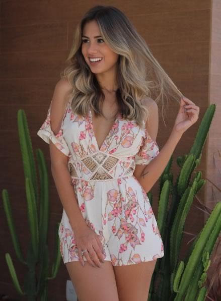 Macaquinho Summer - Moda para Meninas Loja - Look do dia - lookdodia.com