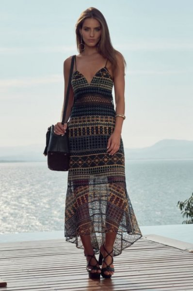 Vestido Midi Tule Bordado - Look do dia - lookdodia.com