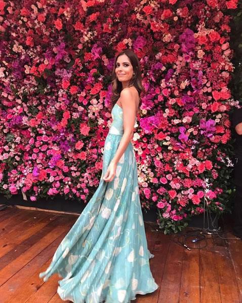 Look do dia Casamento Marina Ruy Barbosa - Vestido Blue Roses - lookdodia.com