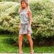 Carol Magalhaes veste Canal Concept Vestido Pecz Estampada - Look do dia - lookdodia.com