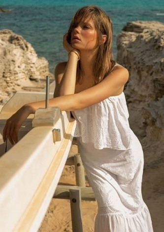 Look do dia Vestido Cigana White - Le Lis Blanc - lookdodia.com
