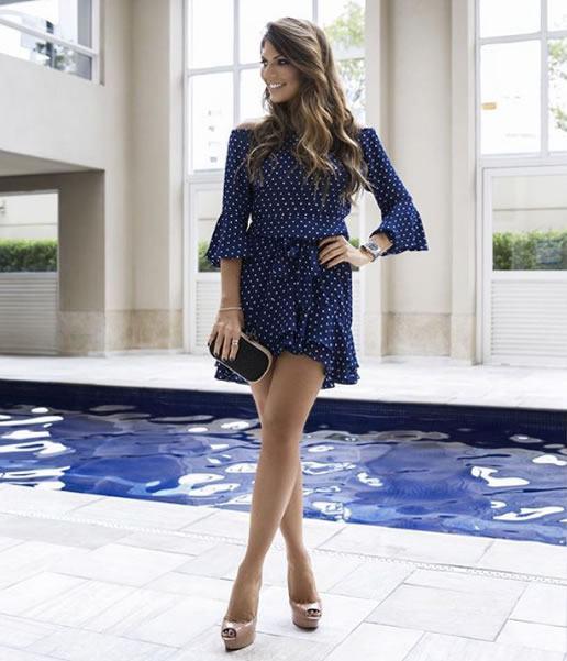 Janine Faria veste Linda de Morrer Vestido Zuleica - Look do dia - lookdodia.com