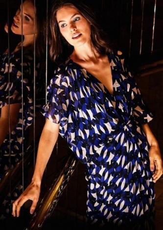 Look do dia Vestido Argolas Morcego - ABRAND - lookdodia.com