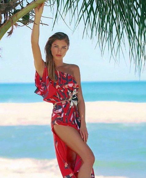 Grazi Massafera veste Morena Rosa Vestido Longo Flora Equatorial - lookdodia.com