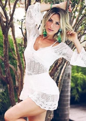 Giovanna Ewbank veste Galeria Tricot Bata Tricot Renda - Look do dia - lookdodia.com