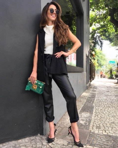 Luiza Sobral veste Fillity Colete Black Fillity - Look do dia - lookdodia.com