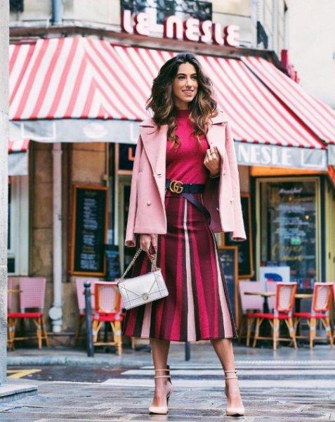Luiza Sobral veste Canal Concept Saia Listrada Lurex - Look do dia - lookdodia.com