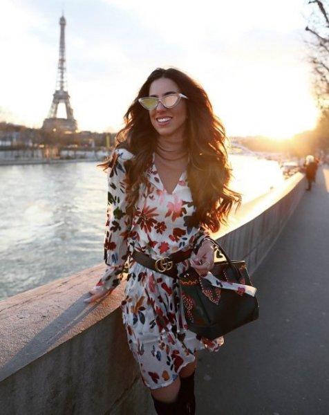 Luiza Sobral veste Canal Concept Vestido Floral de Seda - Lookdodia - lookdodia.com