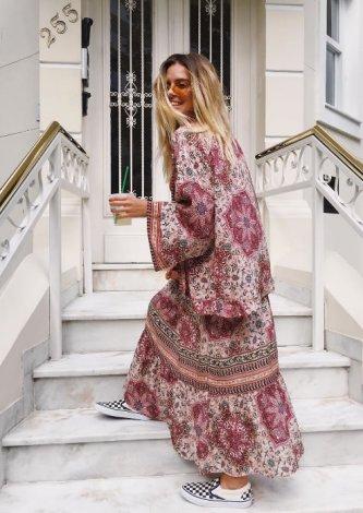 Kimono Estampa Positano
