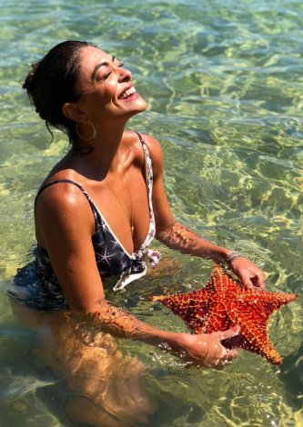Maiô Regata Transpassado New York - Look do dia: Juliana Paes