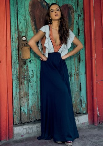 Vestido Bali Com Recortes Colors - Look do dia: Giovanna Lancellotti