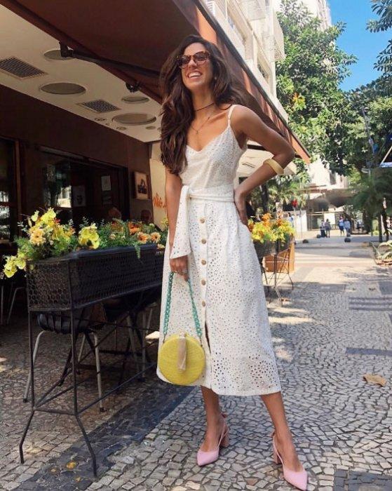Vestido Midi Lese Sol - Look do dia - Luiza Sobral