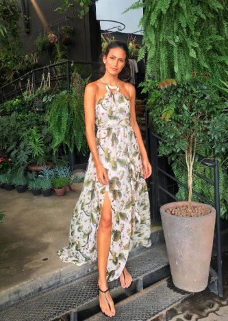 Vestido Giverny — Look do dia: Driely Bennettone