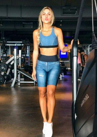 Bermuda Jeans Reversible Tecno, lulu gondim, look do dia