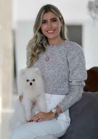 Blusa Tricot Cindy Cinza