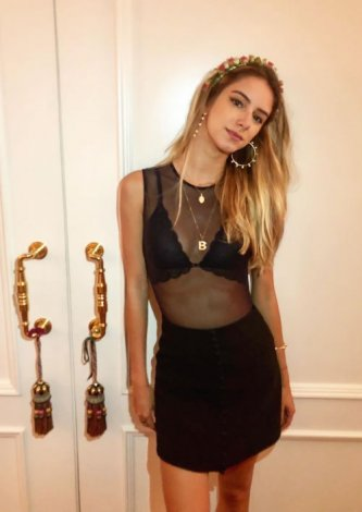 Body Sem Manga Segunda Pele Preto, Bruna Lucchesi Galli, look do dia
